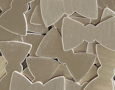 Nickel Silver Bow Tie Stamping Blanks