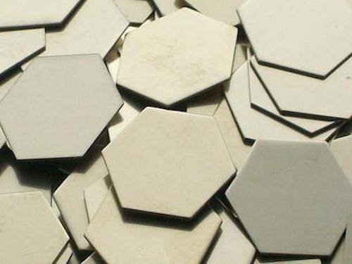 Nickel Silver Hexagons