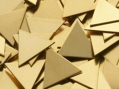 NuGold Triangles Stamping Blanks