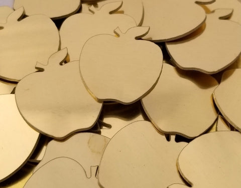 NuGold Apple Stamping Blanks