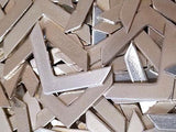 Pewter Cast Chevron Stamping Blanks