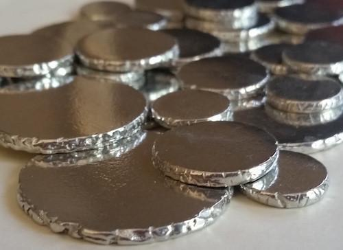 Pewter Stamping Blanks - Coins