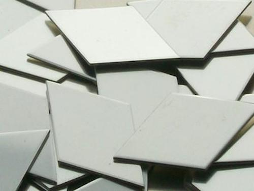 Pewter Stampinng Blanks -Diamonds