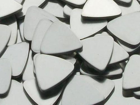 Pewter Guitar Picks Stamping Blanks