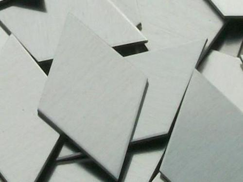 Aluminum Diamonds