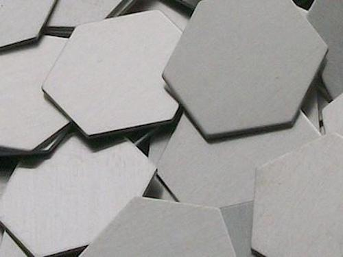 Aluminum Hexagons