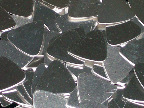Aluminum Guitar Picks Stamping Blanks
