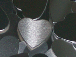 Aluminum Hearts Stamping Blanks