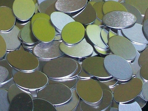 Aluminum Ovals Stamping Blanks