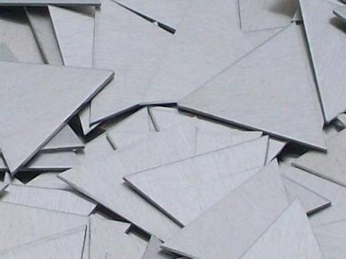 Aluminum Triangles Stamping Blanks