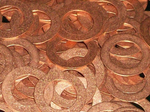 Copper Washers Stamping Blanks