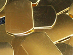 Brass Dog Tags Stamping Blanks