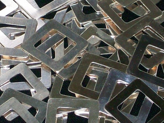 Sterling Silver Square Washer Stamping Blanks - Sold Out