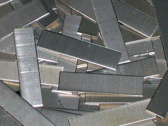Nickel Silver Tags Stamping Blanks R1, 1/8