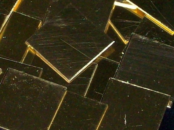 Brass Squares