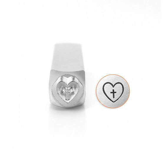 Heart in Crosss SC1518-P-6mm