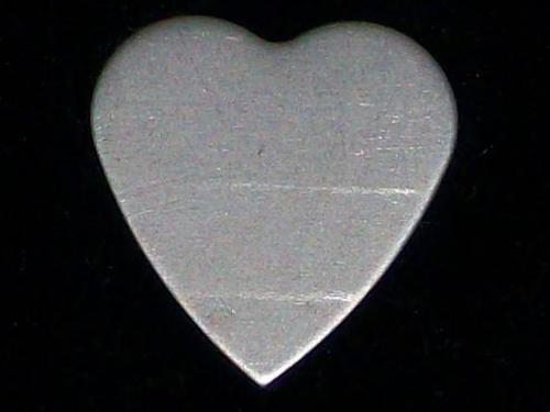 Nickel Silver Hearts