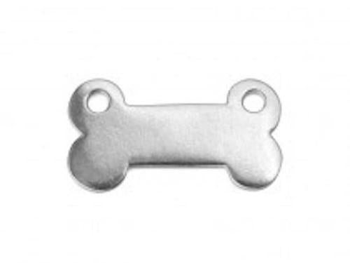 Pewter Stamping Blanks - Dog Bone -Soft Strike - (IA)
