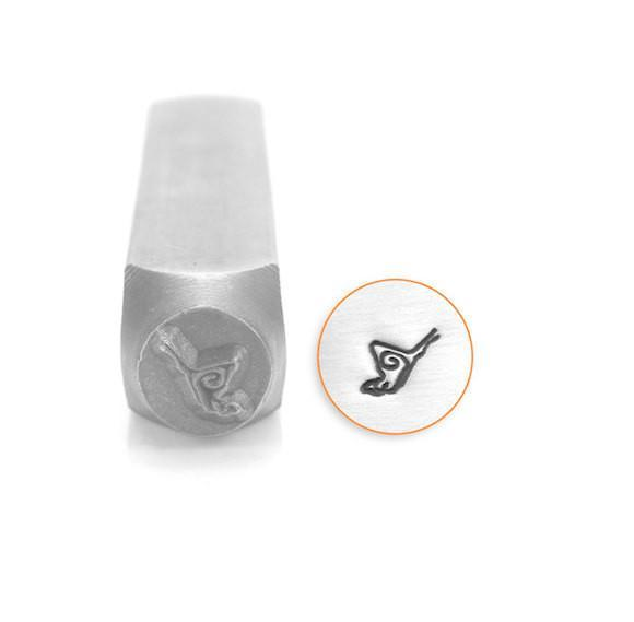 Butterfly Design Stamp, SC156-G-6MM