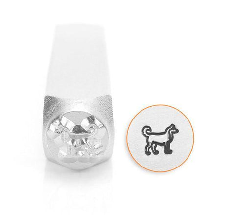 Siberian Husky Design Stamp, 6MM