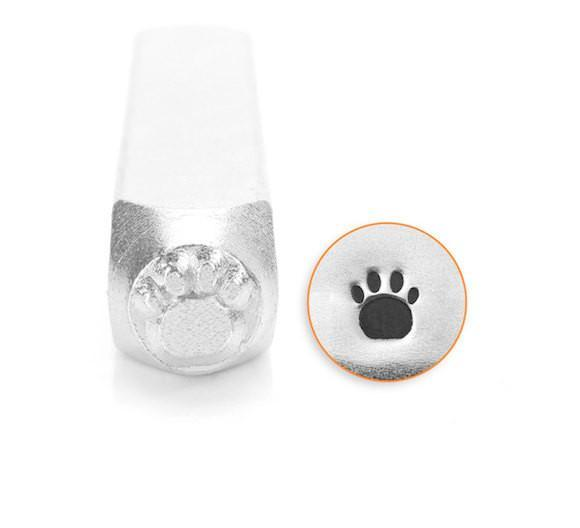 Dog Paw ImpressArt Design Stamp, SC156-I-3MM