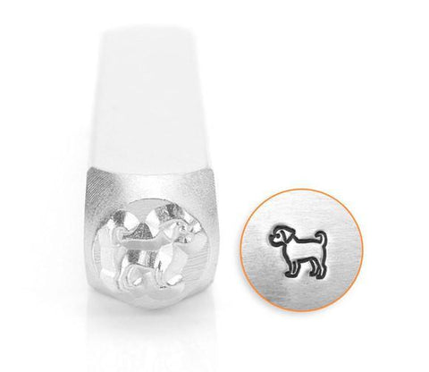 Puggle Design Stamp, 6MM