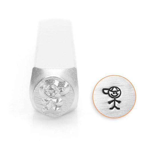 Boy / Son Stick Figure Design Stamp, SC159-C-6MM