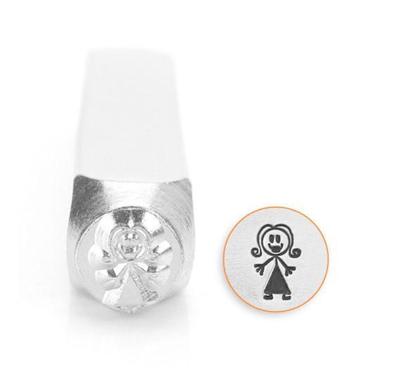 Mama Stick Figure Design Stamp, SC159-K-7MM