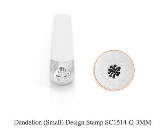 Dandelion Design Stamp, SC1514-G-3MM