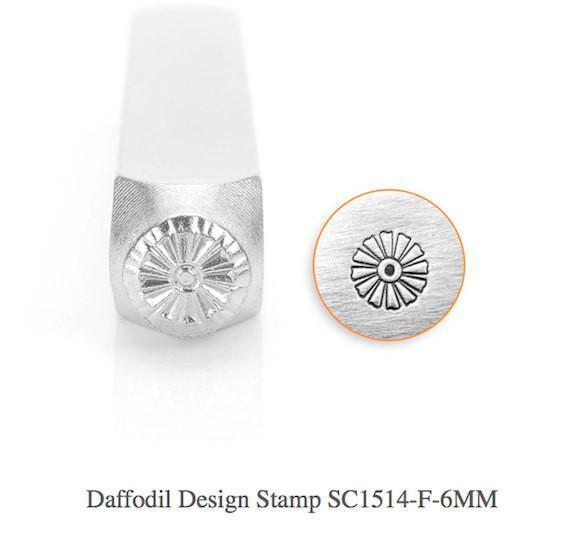 Daffodil Design Stamp, SC1514-F-6MM