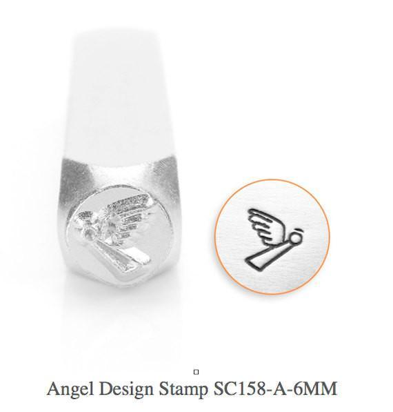 Angel Design Stamp, SC158-A-6MM