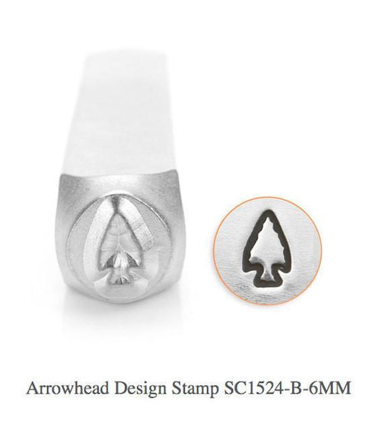 Arrow Head Design Stamp, 6MM