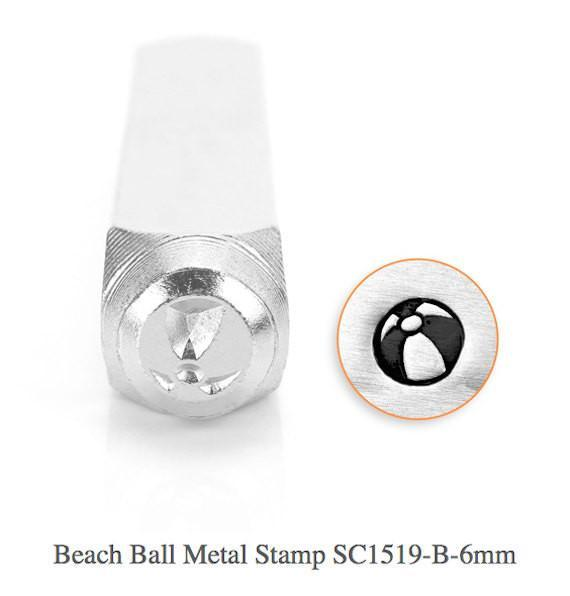Beach Ball Design Stamp, SC1519-B-6MM