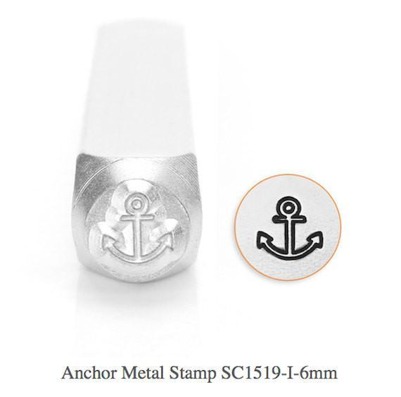 Anchor Design Stamp, 6MM