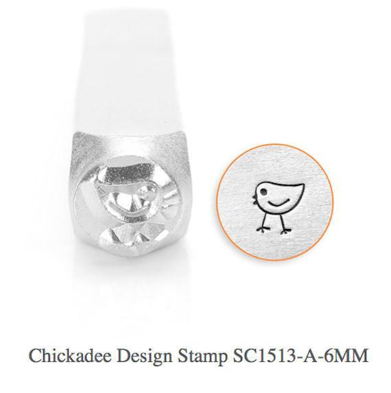 Chickadee Design Stamp, SC1513-A-6MM