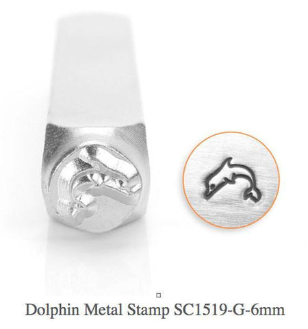 Dolphin Design Stamp, 6MM
