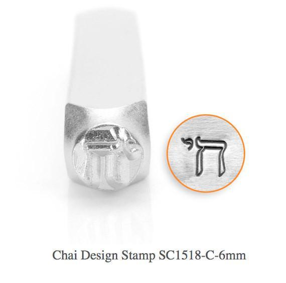 Chai Design Stamp, SC1518-C-6MM