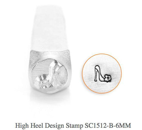 High Heel Design Stamp, 6MM