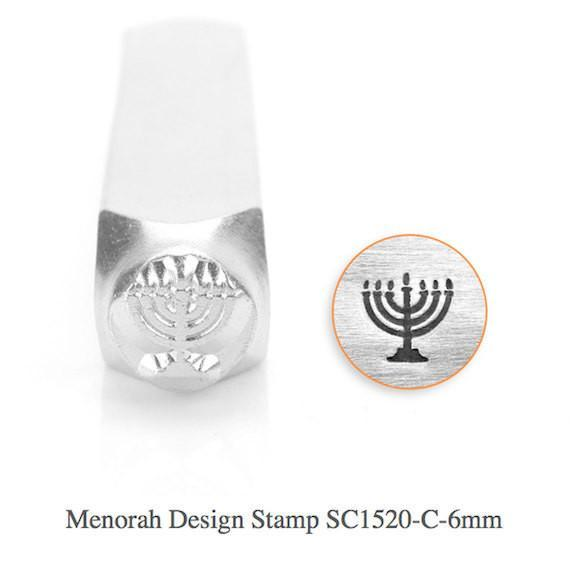 Menora Design Stamp, 6MM