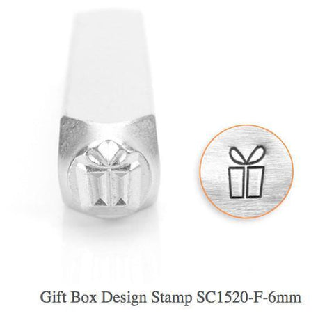 Present Design Stamp, 6MM