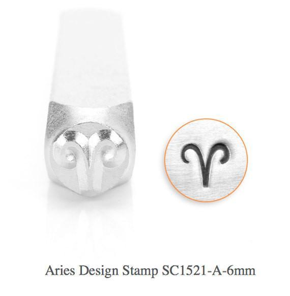 Aries Design Stamp, SC1521-A-6MM