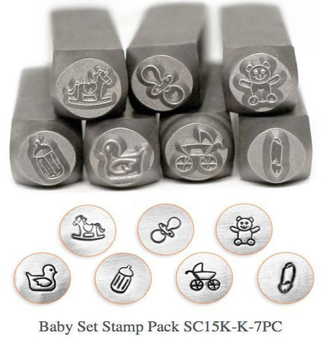 Baby Design Stamp Pack, 7Pc.