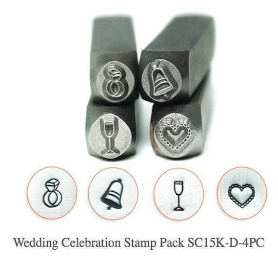Wedding Celebration Stamp Pack - 4 pc., SC15K-D-4PC