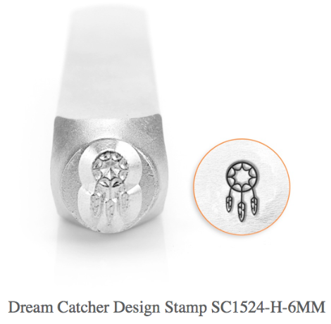 Dream Catcher Design Stamp, 6MM