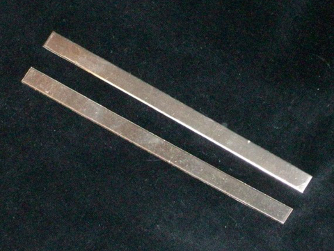 Nickel Silver Cuff Stamping Blanks - Heavy Gauge