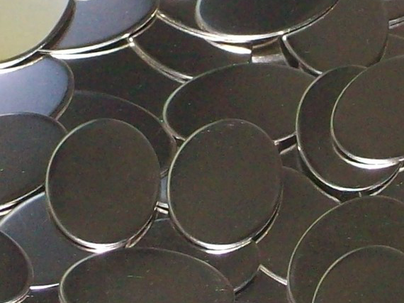 Nickel Silver Ovals Stamping Blanks