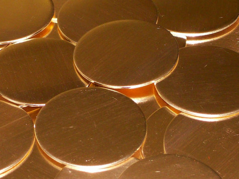 NuGold Discs Stamping Blanks