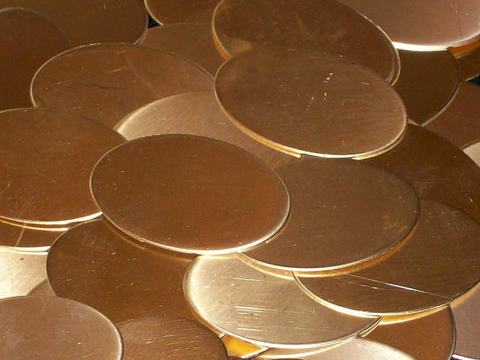 NuGold Ovals Stamping Blanks