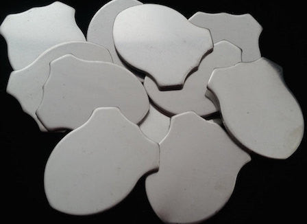 Pewter Stamping Blanks - Shields