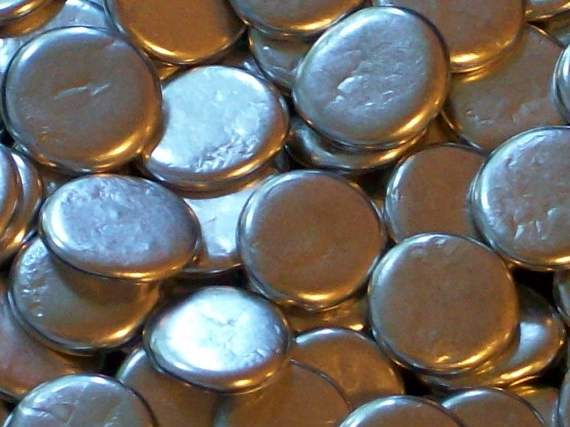 Pewter Pebbles